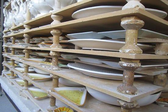 Prodotti in ceramica con Impasti Tradizionali
